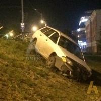 ДТП в центре Омска - никто не пострадал