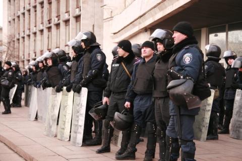 В Донецке штурм казначейства провалился, поскольку никто не знал его адрес