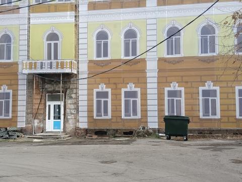 В Омске временно появились красивые здания