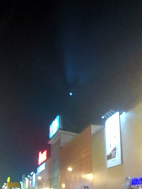 В омском небе видели НЛО