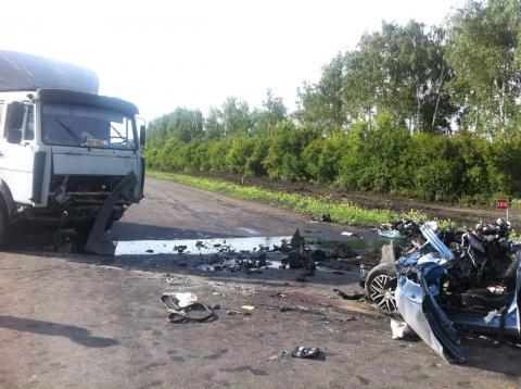В страшном ДТП под Тамбовом погиб молодой омич (фото)