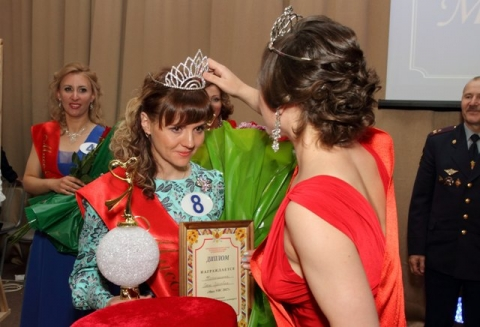 Победительница «Мисс УИС» Омск