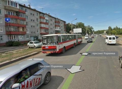 Омские автобусы будут два дня объезжать ремонт на Королёва