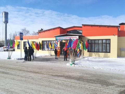Мединский открыл в омском селе Дом культуры