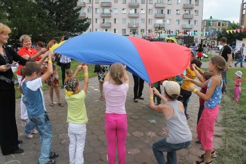 """В Омске прошел праздник """"Территория детства"""""""