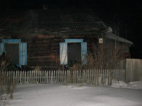 В пожаре погибло трое пьяных омичей