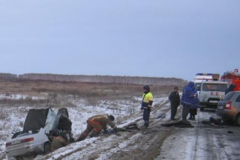 В Омской области в результате аварии погибли пять человек