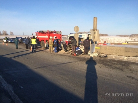 В страшном ДТП на трассе Омск – Тюмень погибли дети