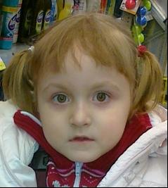 В Омском районе пропала трёхлетняя Саша Спиркина