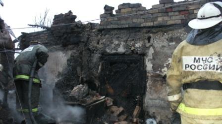Омская семья погибла при пожаре