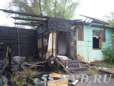 Пожар оставил омичей без котельной и почты