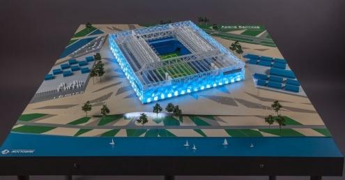 "Омский ""Мостовик"" представил стадион для чемпионата мира по футболу"