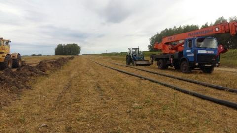 В 2018 году газ проведут в 18 сёл и деревень Омской области