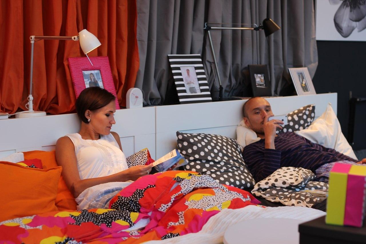 ИКЕА показала интерактивную комнату любви