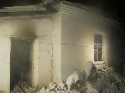 В Калачинске мужчина и женщина погибли при пожаре
