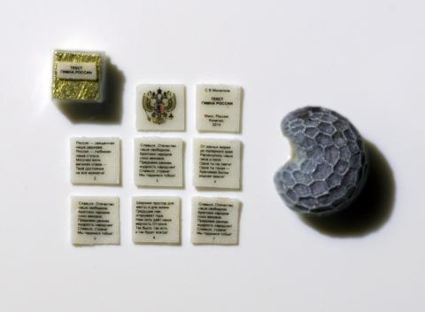 Омские микроминиатюристы подарят Путину самую маленькую книгу в мире