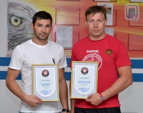 Попов и Пережогин попали в Книгу рекордов Омской области