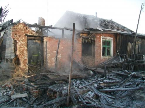 В Омской области пожары унесли жизни четырех человек