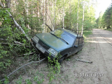 В Омской области 19-летний парень угнал два автомобиля