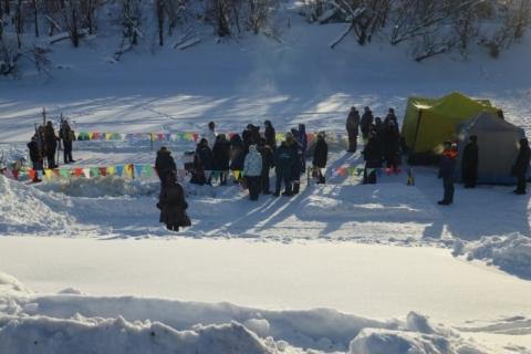 Крещенские купания в Омске закончились без происшествий