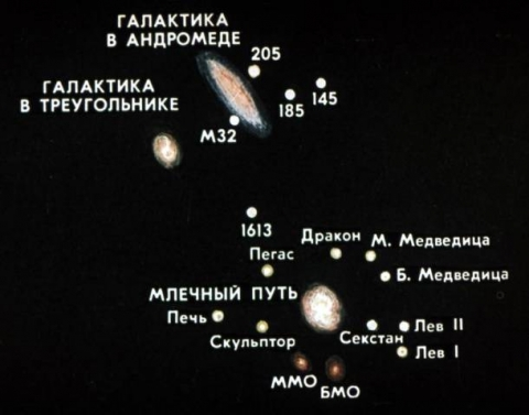 Ученые ищут внеземной разум в Туманности Андромеды