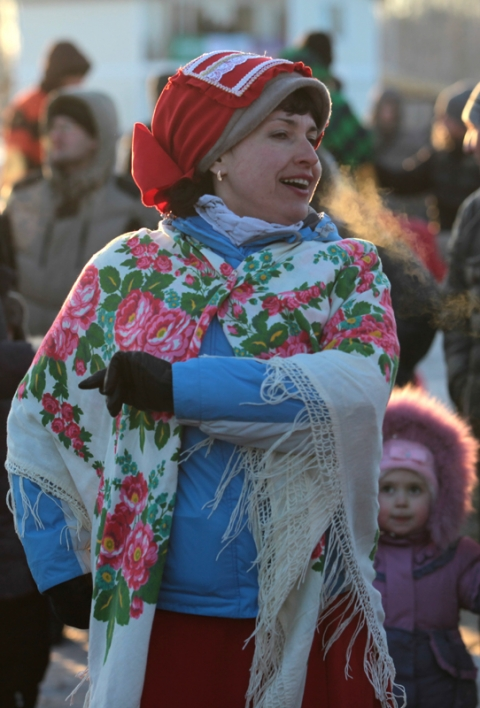 """Масленица Фест"" в Омске проводила зиму"