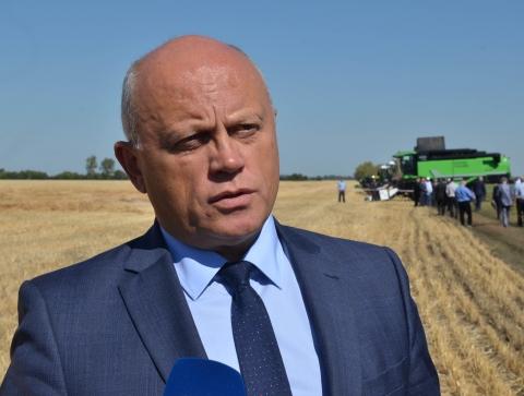 На полях омского региона скошено  610 тысяч гектаров зерна