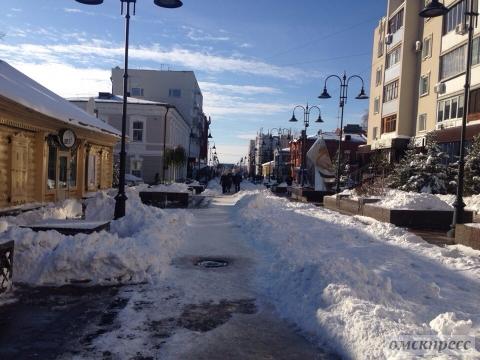Вид на улицу Валиханова