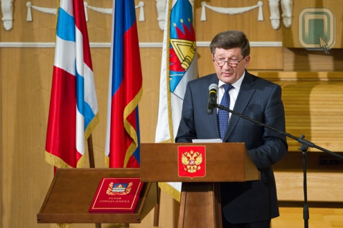 Вячеслав Двораковский вступил в должность мэра Омска