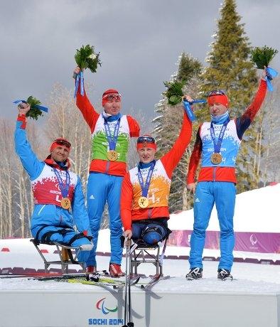 Григорий Мурыгин стал паралимпийским чемпионом в Сочи