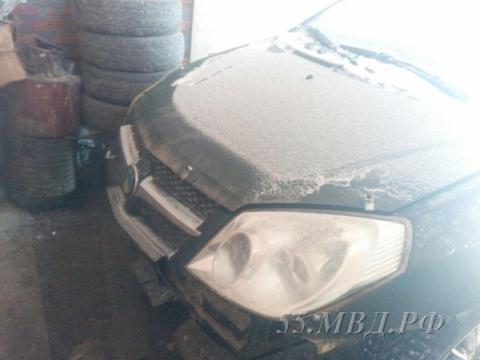 Водитель, сбивший пешеходов в Омском районе, сам пришел в полицию