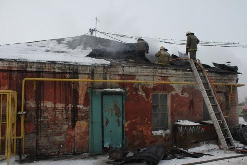 В Омске произошел пожар на улице Звездова