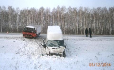 В ДТП под Омском погибла женщина