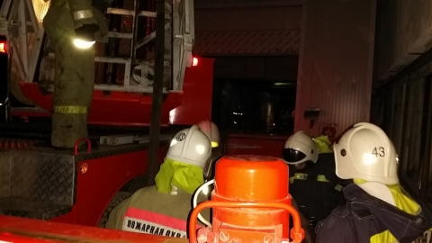 В Омске ликвидирован пожар на ТЭЦ-3