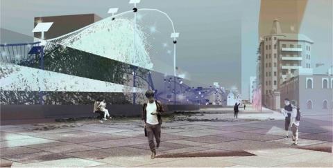 В омской «Меге» подведут итоги конкурса проектов благоустройства улицы Тарская
