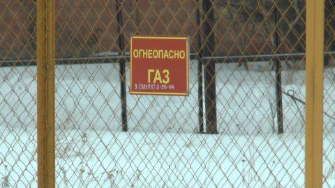 В районе Омской области в мороз отключили газ