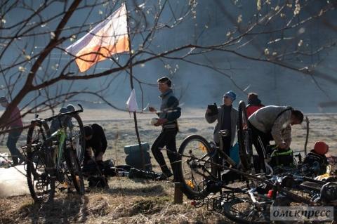 """Омичи вернулись с экстремального велопробега по """"алтайскому Бродвею"""""""