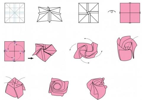 5 простых поделок из бумаги