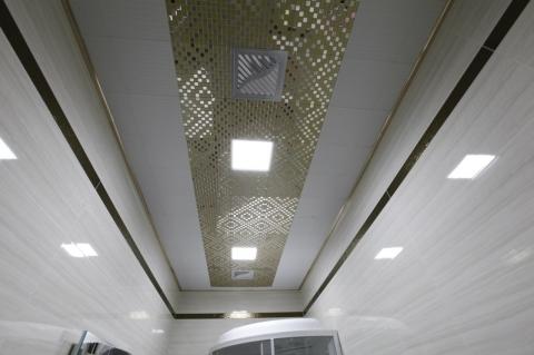 Внешний вид кассетного потолка