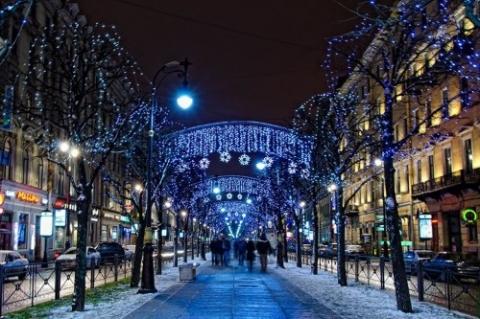 Новогодние туры в Санкт-Петербург
