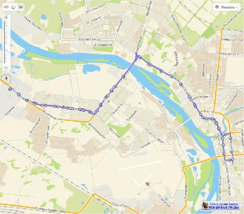 В Омске исчезнут три автобусных маршрута