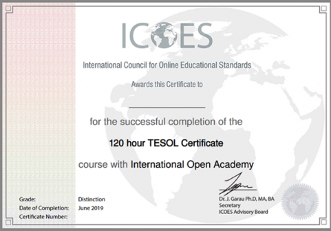 Сертификат TELOS – прекрасная альтернатива диплому из иняза!