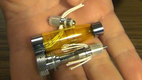 Время для замены испарителя в электронной сигарете