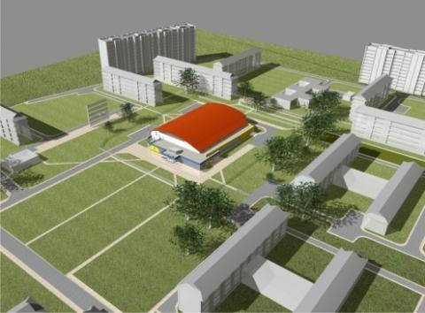 Строительство крытого катка на Бархатовой затягивается на неопределённый срок