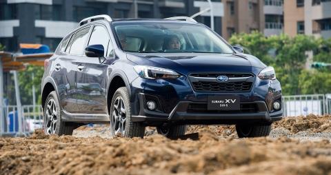 Обновленный автомобиль Subaru XV 2018 года