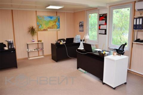 Интерьер кабинета модульной гостиницы КОНВЕЙТ