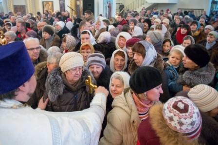 В Омске отпраздновали Рождество