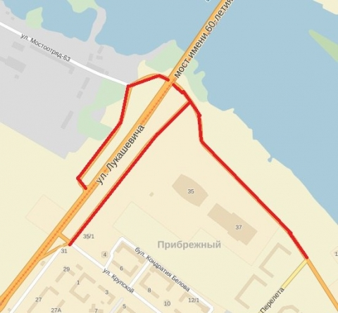На Левом берегу перекроют движение ради велосипедистов