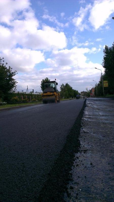 Омский нефтезавод испытывает на городских дорогах уникальные битумы