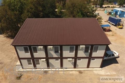Строительство административно офисных зданий из блок контейнеров
